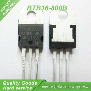 20buc/lot Triac BTB16-800B BTB16 16A / 800V SĂ-220 Originale Autentice