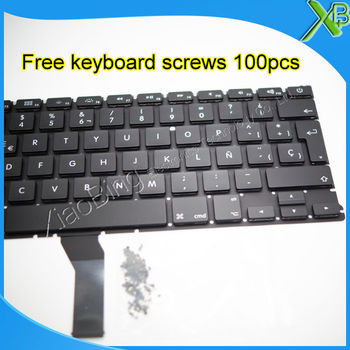 De Brand Nou SP Spanish keyboard+100buc suruburi tastatura Pentru MacBook Air 13.3