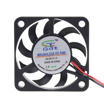 Gdstime 5 buc Micro Ventilator 5V 4cm 2.0 2Pin 4007 Mici Blushless DC Răcire Ventilator de 40mm x 7mm PC CPU Radiator VGA Cooler 40x40x7mm