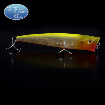 Transport gratuit Topwater Mare Popper Pescuit Nada 140MM 38G